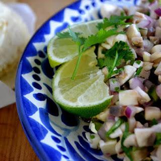 Mushroom, Jalapeno & Cilantro Salsa Recipe