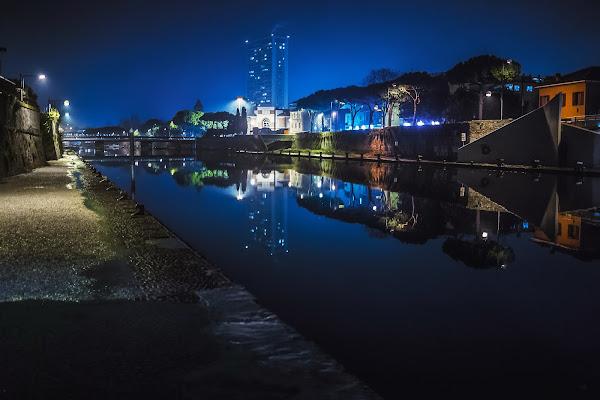 Rimini, in una notte di mezzo inverno