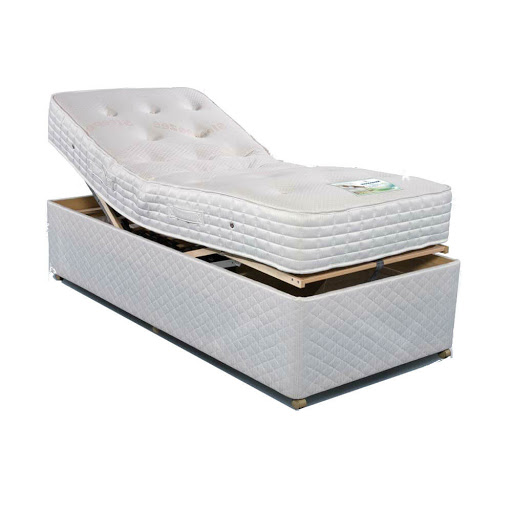 Sleepeezee Pocket Adjustable Bed - White