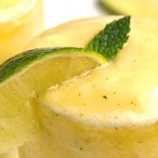 Frozen Pineapple Mojito.