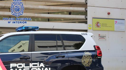 Operación Plástico: cuatro detenidos en Almería por fraude a la Seguridad Social