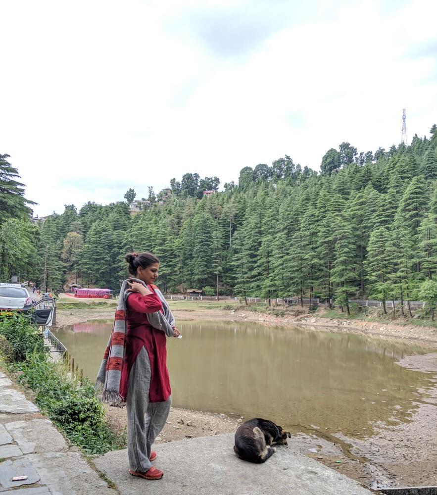 dal+lake+dharamshala+kangra+valley+himachal+pradesh india