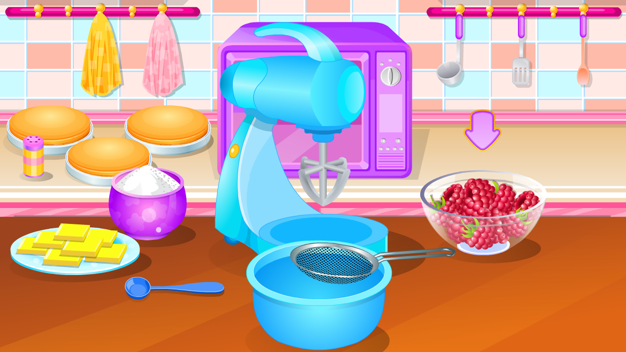 giochi di cucina bacche torta - app android su google play - Giochi Di Cucina Di Barbie