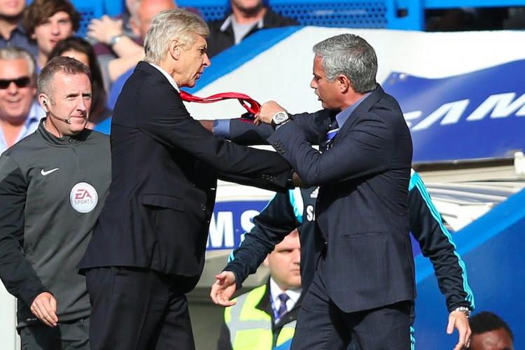 José Mourinho lâche une petite pique envers Arsène Wenger
