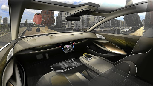 Autonomous vehicles will be able to adapt their interiors on the move.    Picture: QUICKPIC