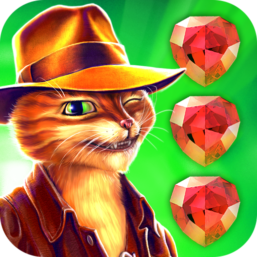 Indy Cat Match 3 (game)