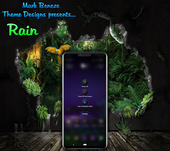 Rain Theme for LG G8, V40, V50 UX8 Android 9 for PC-Windows 7,8,10 and Mac apk screenshot 7