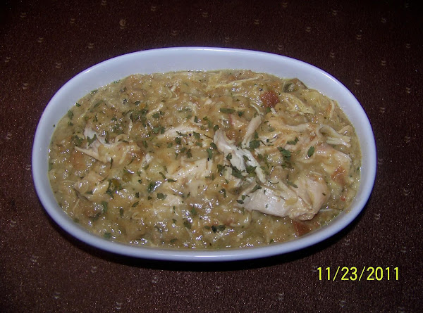 Easy Crockpot Chicken And Dressing Recipe