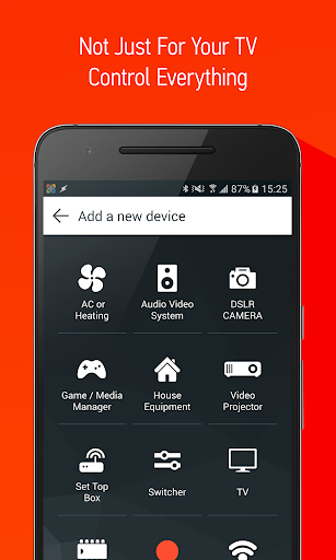 Screenshot for Smart IR Remote - AnyMote in United States Play Store