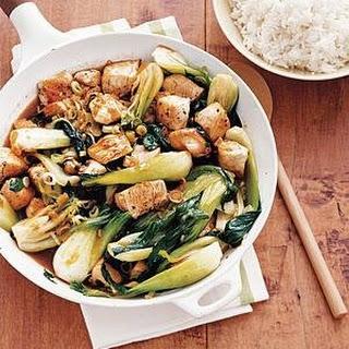 Chicken and Bok Choy Stir-Fry Recipe