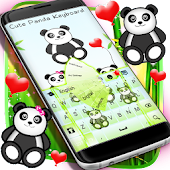 Keyboard Cute Panda