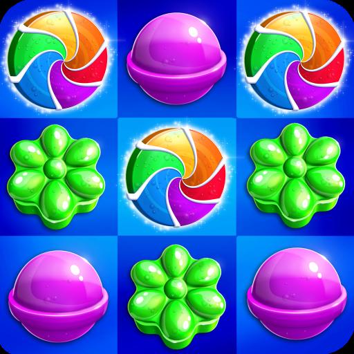 Lollipop Rush Match 3 Icon
