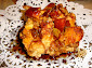 Apple and Sausage French Toast Casserole with Cinnamon Syrup Recipe