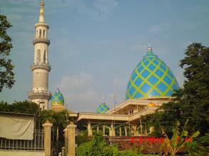 Photo: Kubah-Masjid-Almukhlashin Pandaan Sukorejo Jatim