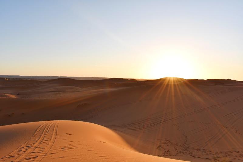 Orme nel deserto di Kamone