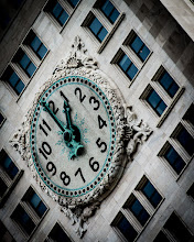 Photo: This shot shows the clock on the Metropolitan Life Tower in New York City.  (stupid black bars)