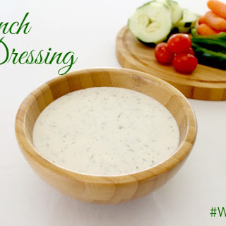 Whole30 Ranch Dressing.