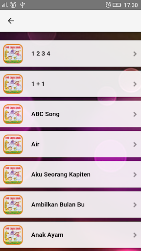 Lagu Anak Indonesia TK & PAUD  screenshots 1