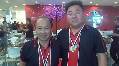 Photo: Mário Okumura & Sung Kae, Maior Partida (491) das duplas masculinas 2.ª divisão