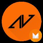 Asiimov Dark CM13 CM12 Theme v5.7.0