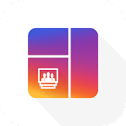 Grid Post Maker- Photo Video Collage In Profile