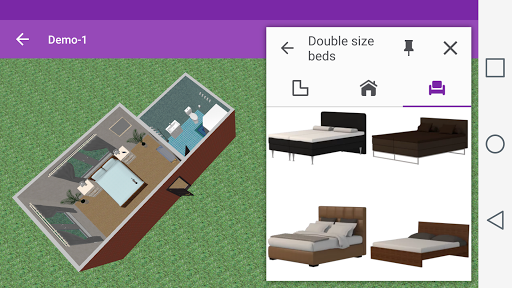 Bedroom Design - screenshot