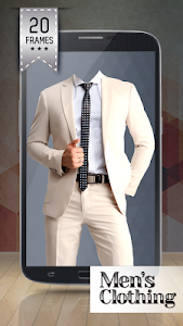 Men's Clothing Photo Montage screenshot 0