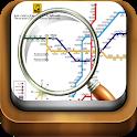 نقشه خطوط مترو تهران و حومه icon
