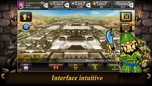 Carte trois royaumes  captures d'écran 2