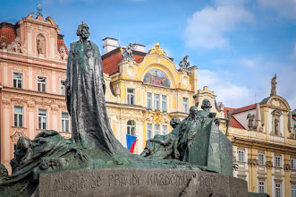 Photo: Johannes Hus monument