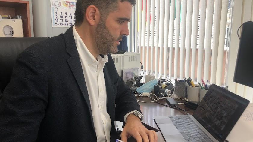 Juan José Alonso, concejal de Economía del Ayuntamiento de Almería