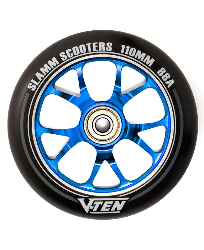 Slamm V-Ten II Wheels set 110mm Blue