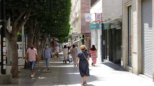La incidencia ha bajado en 7 puntos en el Distrito Almería.