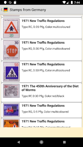Stamps of German screenshot 3