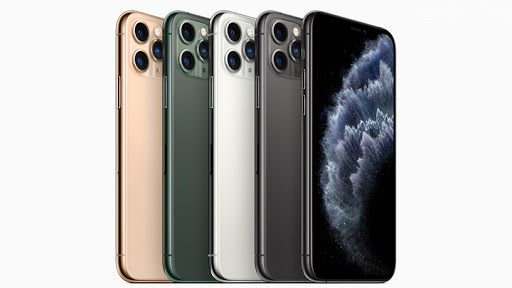 iPhone 11 Pro and iPhone 11 Pro Max are Apple's higher-end smartphone models.