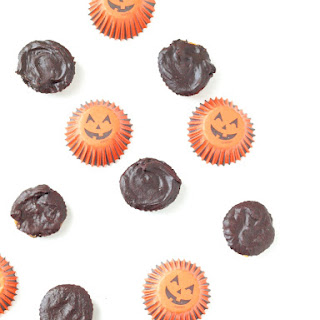 Healthy 4-Ingredient Chocolate Peanut Butter Cups.