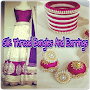 Silk Thread Bangles And Earrings APK icon