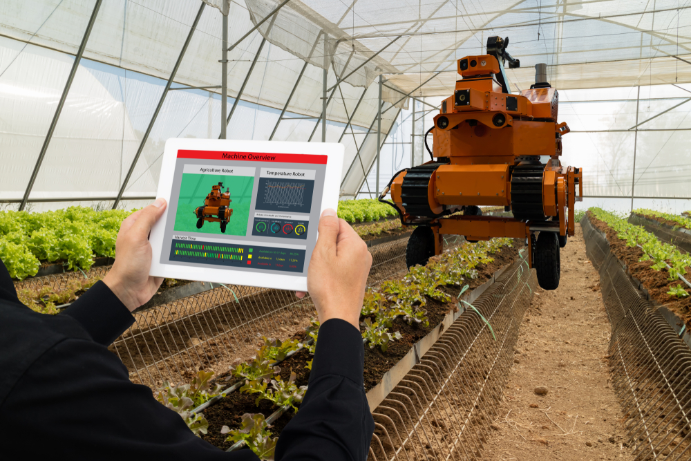 Conectividade, integração e autonomia são conceitos centrais do agronegócio 4.0. (Fonte: Shutterstock/MONOPOLY919/Reprodução)