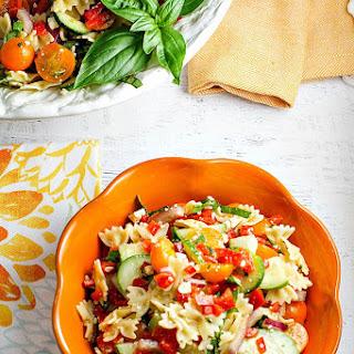 Pasta Salad with Summer Veggies Recipe
