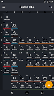 Periodic table 2018 apps on google play screenshot image urtaz Image collections