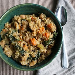 Quinoa, Sweet Potato and Chickpea Stew