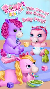 Pony Sisters Baby Horse Care - Babysitter Daycare - náhled