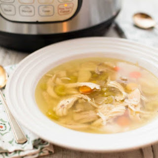 How to Make Chicken Soup in the Pressure Cooker.