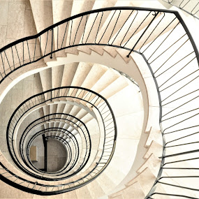 Illustration by J & M - Buildings & Architecture Architectural Detail ( image, view, stairs, illustration, interior )
