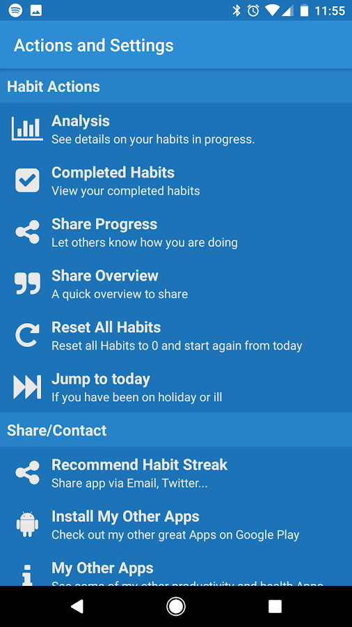 Habit Streak- screenshot