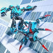 Spider Robot Game - Transforming Robot Spider Web