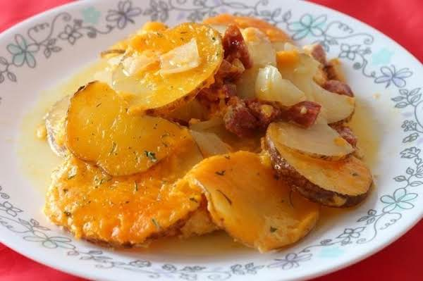 Sausage And Potatoes Au Gratin Recipe