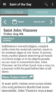 Saint of the Day- screenshot thumbnail