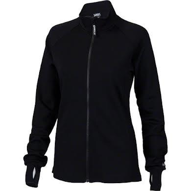 Surly Merino Wool Women's Long Sleeve Jersey: Black