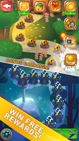 Solitaire Dream Forest - Free Solitaire Card Game Screenshot